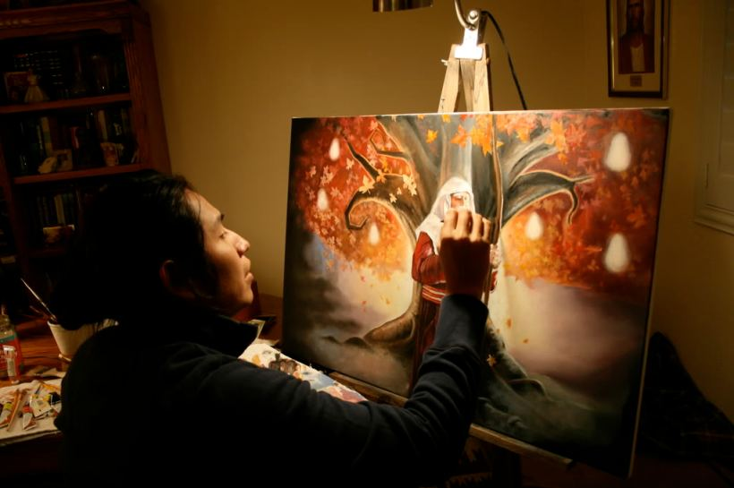 Lehi Sanchez Painting Father Lehi