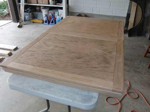 The table top, fully sanded. Brings a tear to my eye. Is there any way I can nominate this for the Nobel Peace Prize?