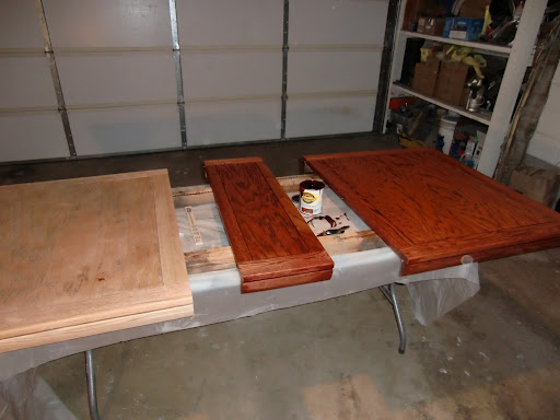 Refinishing A Solid Oak Dining Table Seth Adam Smith