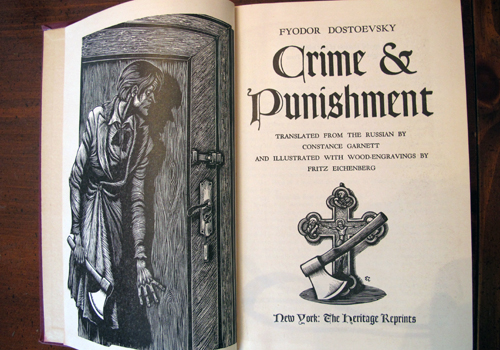 Examples List on new topic who wrote essays on crime and punishment
