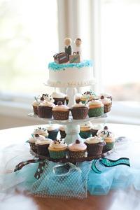 Cupcake Wedding Cake - 02