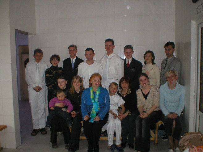Me with some of my favorite Russian people. I miss you!