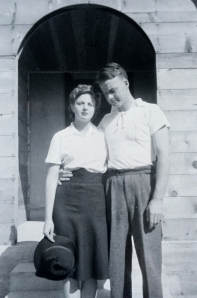 Grandma and Grandpa Adams.