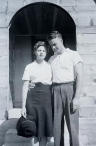 Grandma and Grandpa Adams.