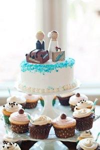 Cupcake Wedding Cake