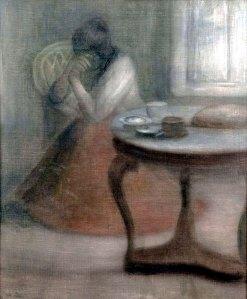 """Sorrow"" by József Rippl-Rónai"