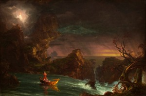 """The Voyage of Life: Manhood,"" by Thomas Cole"