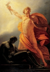 Prometheus, the Greek God.