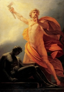 Prometheus, the Greek God.